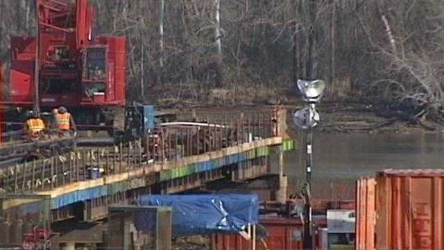 The new bridge spanning the Yadkin River and connecting I-85 in Davidson and Rowan counties is coming in cheaper, and will be finished faster, than planned.