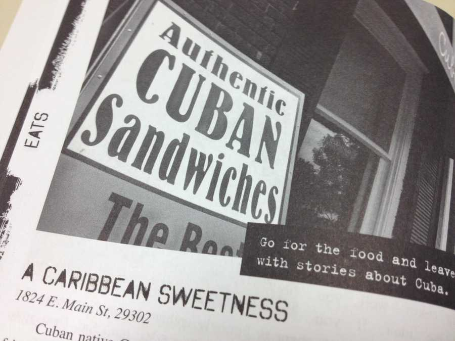 How about a Cuban restaurant run by a  man who opened up A Caribbean Sweetness when he was laid off. He and his wife run the business.