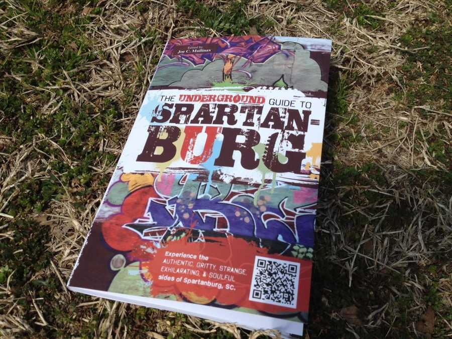 The Underground Guide to Spartanburg had its first printing this month from Hub City Press. It's 104 pages and aims to point out hidden gems even Spartanburg natives might not know about.