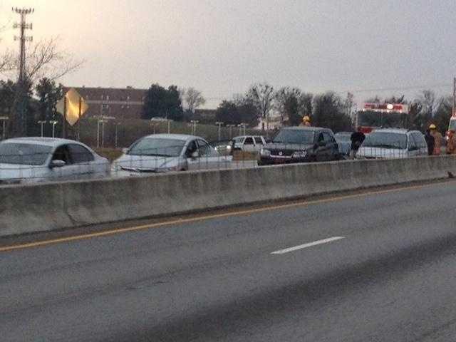 Several cars involved