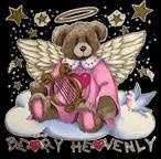 "#5 cont.: The victim was wearing a black cotton nightshirt with a ""Beary Heavenly"" design."