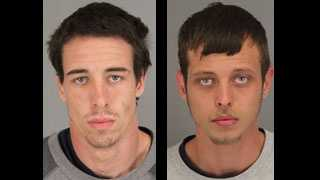 Allen Travis Cravey and Michael Tyler Hood: Accused in multiple car break-ins