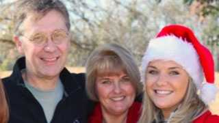 Aimee Copeland and her parents