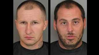 Travis Foster and Jason Hughes: Escaped from the Anderson County Detention Center