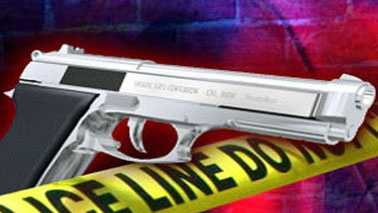 Gun Shooting Police Tape