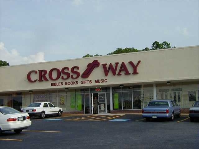 Cross Way Christian Supply has two stores, one on 2406 E North St in Greenville and the other on 6700 Calhoun Memorial Highway in Easley.