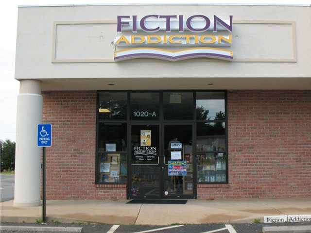 Fiction Addiction, located at 1020A Woodruff Rd., sells new and used books.