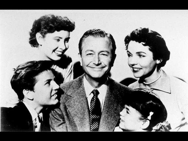 """Father Knows Best"" aired 203 episodes on CBS from 1954 to 1960."
