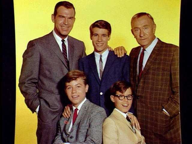 """My Three Sons"" ran on ABC and CBS from 1960 to 1972."
