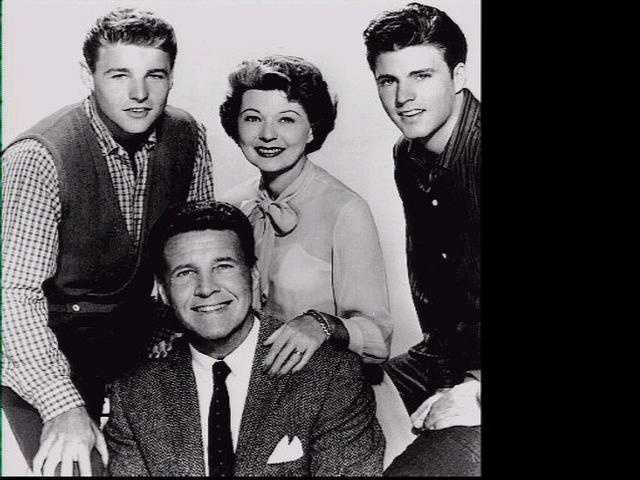 """The Adventures of Ozzie and Harriet"" was based on the real life Nelson family and aired on ABC from 1952 to 1966."