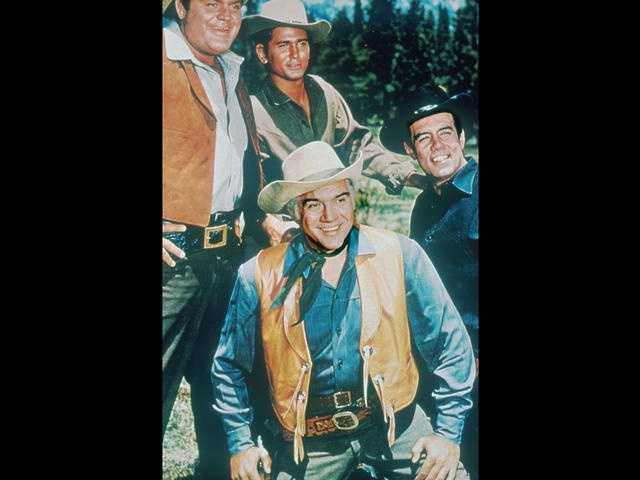 """Bonanza"" aired a whopping 430 episodes on NBC from 1959 to 1973."
