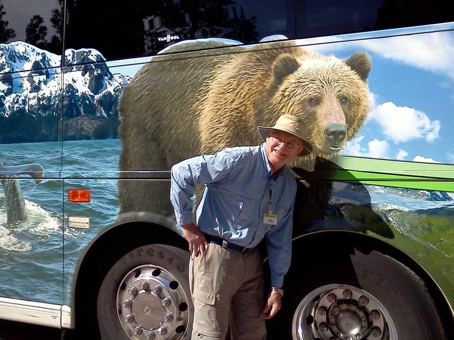 Trib with bear