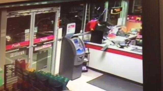 Citgo robbery caught on tape