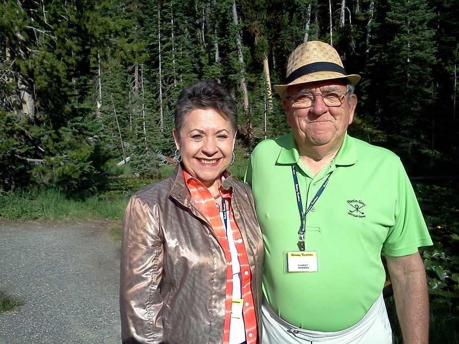 Elbert and Bobbie at Isa Lake