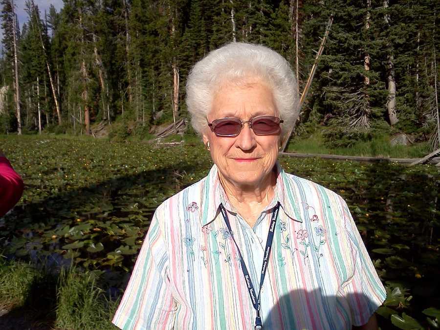 Lou Ellen in Yellowstone