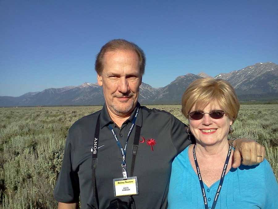 Doug and Beth in Jackson Hole