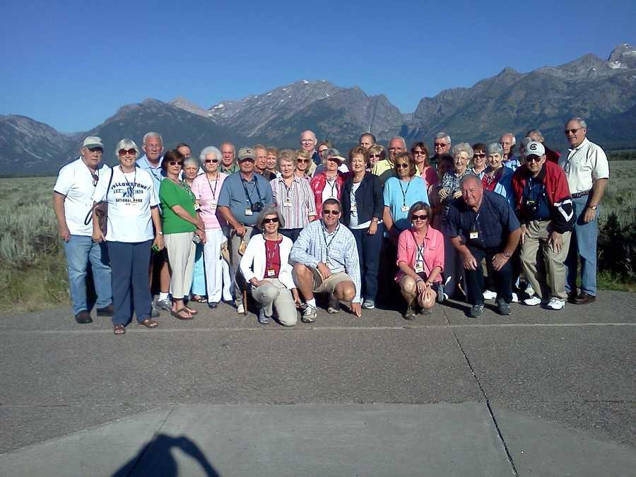 Group at the Grand Tetons
