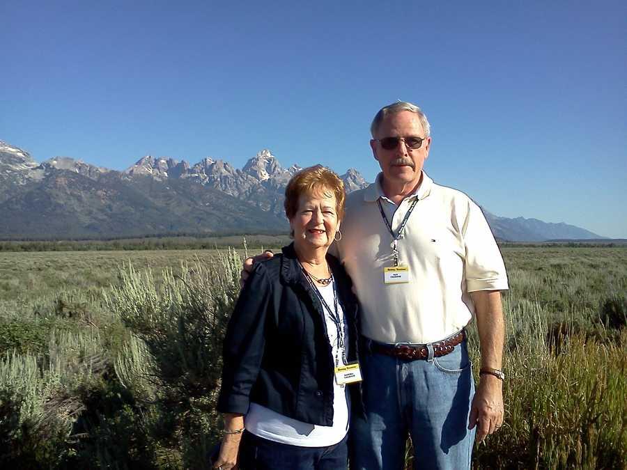 Sandra and Ray at Tetons