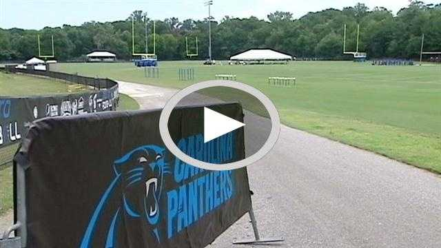 Panthers training camp begins in Spartanburg