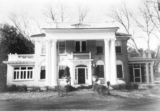 The C. Granville Wyche House, 2900 Augusta Rd. in Greenville, was designed by Atlanta architect Silas D. Trowbridge and built in 193. Its owner, leading Greenville attorney C. Granville Wyche, lived in the house from 1931 to 1988. The Wyche house was one of the most expensive and elaborate residences constructed in Greenville during the 1930s.