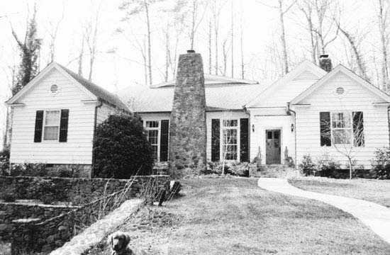 "The Hugh Aiken House, 1 Parkside Drive, Greenville, was one of notable Greenville architect William ""Willie"" Riddle Ward's most distinctive single-family residential designs. The house was designed by Ward in 1948 for Hugh K. Aiken, president and treasurer of Piedmont Paint and Manufacturing Company."