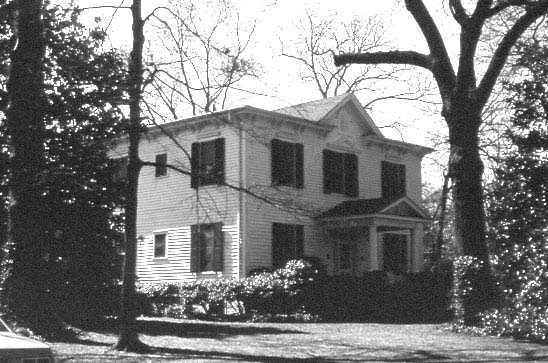 T.O. Donaldson House (Dr. Davis Furman House), 412 Crescent Avenue, Greenville, is thought to have been built as a private residence for William Williams, around 1863. The house was originally built was a one-and-one-half story cottage, but soon after its construction, a second story was added.