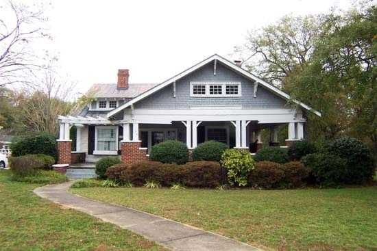 The McDowell House, on North Main Street in Fountain Inn, is a Craftsman style bungalow built around 1922. J.B. Wasson milled the pine and oak on his property in the Fairview Community of Fountain Inn for the house that he built for his sister, Quentine Wassoon McDowell, the widow of James Wistar McDowell. The property includes a one-story front-gabled contributing outbuilding, built ca. 1922, that was originally used as a garage.