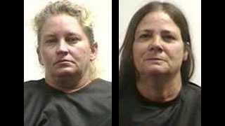 Brenda Branham and Carolyn Rodriguez: Accused in a 5-county burglary spree
