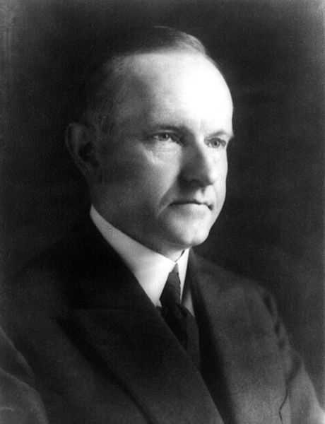 Calvin Coolidge -- 1921-23 under Warren G. Harding