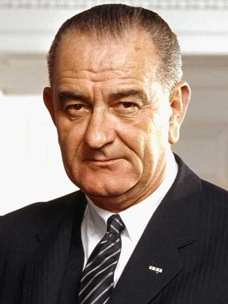 Lyndon B. Johnson -- 1961-63 under John F. Kennedy