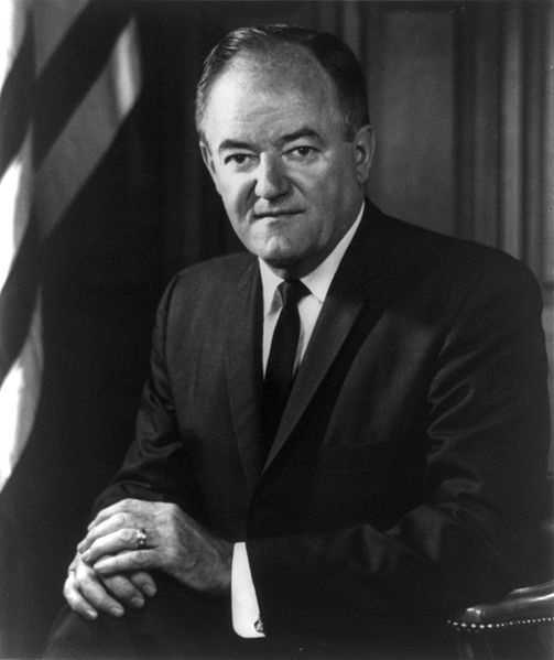 Hubert Humphrey -- 1965-69 under Lyndon B. Johnson