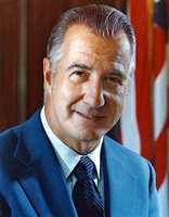 Spiro Agnew -- 1969-73 under Richard Nixon