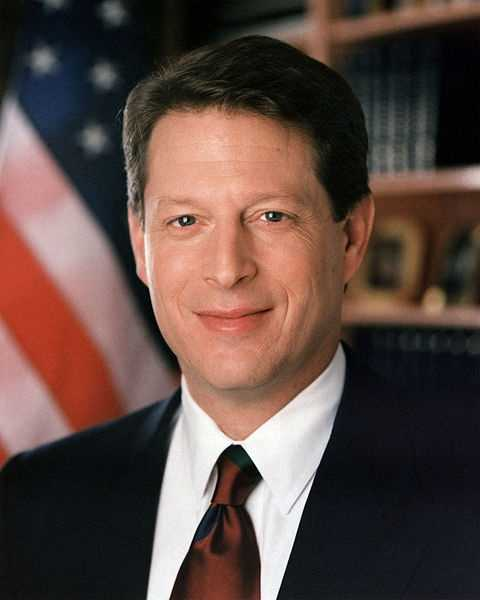 Al Gore -- 1993-2001 under Bill Clinton