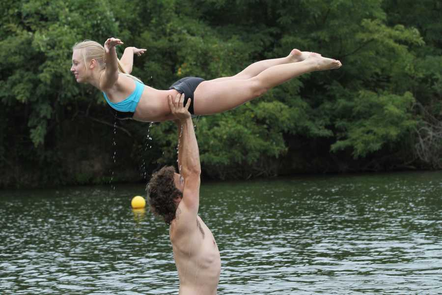 "A festival starts Friday that celebrates the movie ""Dirty Dancing"". Pictures by Chris Wolfe"