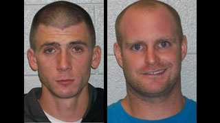 Christopher Lewis and Lance Staton: Accused in multiple burglaries