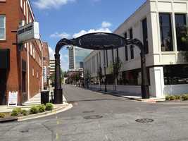 Brown Street in Downtown Greenville is getting a makeover