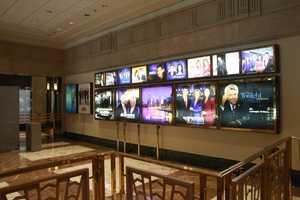 Inside the NBC studio in Chicago