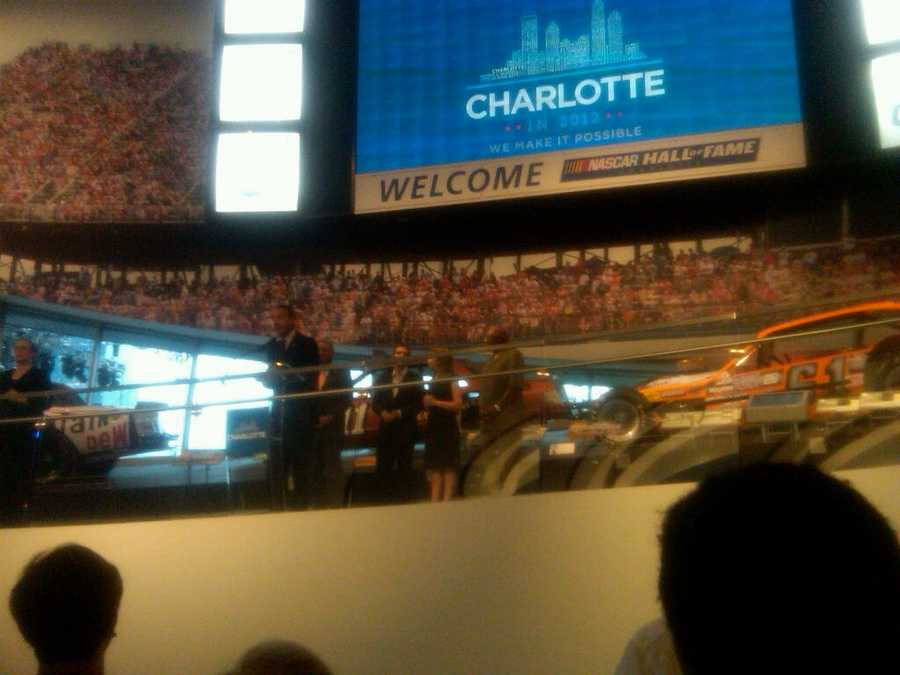 SC opening reception at Nascar Hall of Fame