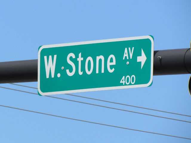 Stone Avenue: Named for Eugene E. Stone III, who established Stone Manufacturing Company, a clothing manufacturer, in the early 1930s.