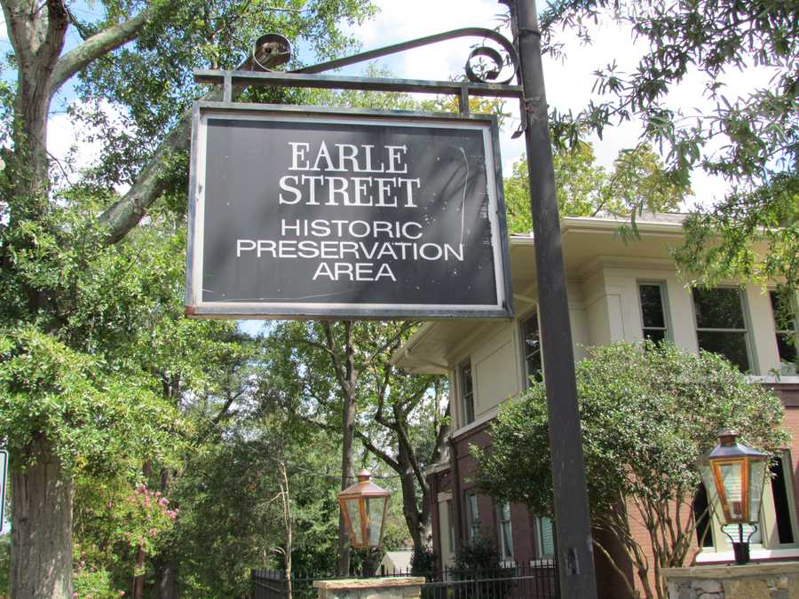 Earle Street: Named for Colonel Elias Earle (1762-1823), who served in U.S. House of Representatives. He also served as a member of the South Carolina State Legislature. Earle was also one of the earliest ironmasters of the South, and prospected and negotiated in the iron region of Georgia. He acquired land in the north end of the city in the early to mid-1800s.