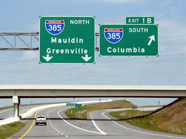 The Golden Strip: The communities of Simpsonville, Mauldin and Fountain Inn were given this optimistic name for the economic prosperity brought when Interstate 385 connected the three cities – that are noted for low unemployment due to a diversity of industries.