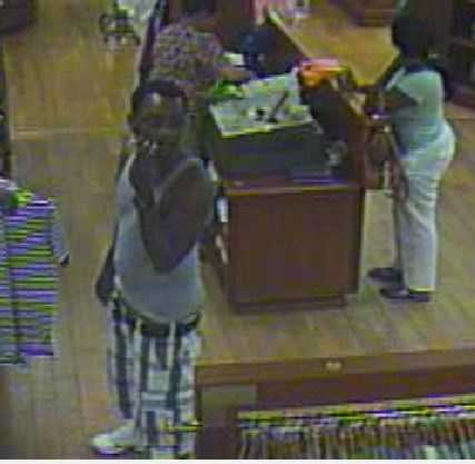 Police say a credit card was stolen from a car in Greenville County in August.