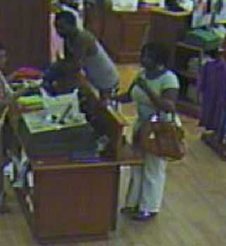 Greenville police are looking for the people shown in these photos from Haywood Mall.