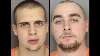 Aaron Terry and Matthew Geiger: Accused in an auto break-in spree