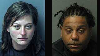 Hollie Michelle Henderson and Millard Jerome Strickland: Charged in what Seneca police call the City's biggest meth bust ever.