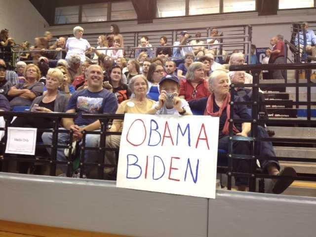 VP President Biden visits Asheville