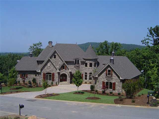 The European-country home is eight minutes from Greenville. To see the complete listing, go to realtor.com.