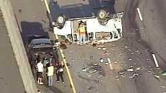 I-85 Spartanburg County wreck