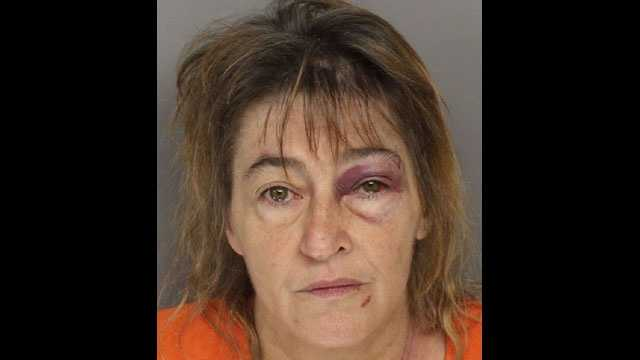 Tammy Lee Simpson: Charged with criminal domestic violence