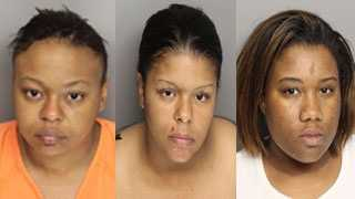 Dyer, Knowles, Wakefield: charged with assault and battery
